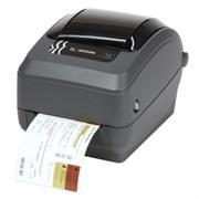 Принтер штрих-кода Zebra GX430t (термотрансф)